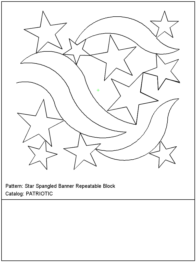 Star Spangled Banner Repeatable Block